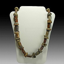 Pre-columbian Tairona Jasper Necklace