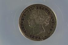 Canada 10c 1899 Large 9, ANACS EF45