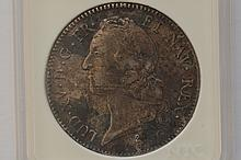 France. 1769-A Silver Ecu. VF/EF