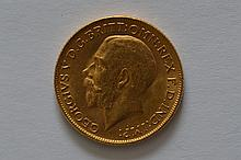 India 1918-I Gold Sovereign