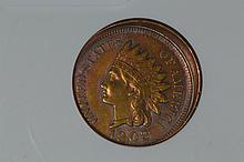Broadstrike Mint Error Indian Cent