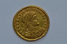 Ancient Rome. Constantine II (317-337 AD) Gold Solidus as Caesar