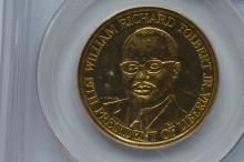 Liberia 1972 Gold 25 Dollars