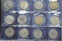 An album of Mexican coinage