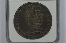 Netherlands, Zeeland 1748 Silver 2 Ducats