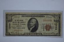 $10.00 Series of 1929 Type I National Bank Note, Fr-1801-1, Charter #12449.