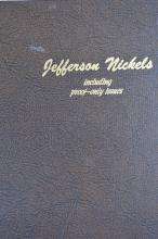 A lovely complete set of Jefferson Nickels