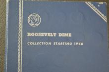 A nearly complete set of Roosevelt Dimes