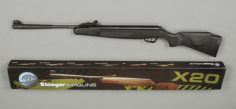 A Stoger .22 break barrel air rifle, with