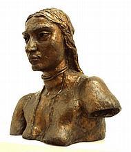 Sir Jacob EPSTEIN [1880-1959] 'Sunita 111', 1926,