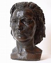 Sir Jacob EPSTEIN [1880-1959] 'Betty May [Head]',