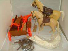 Lone Ranger Accessories Wagon & Horse