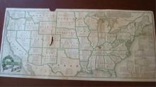 G. G. Green's 1881 Industrial Map of America