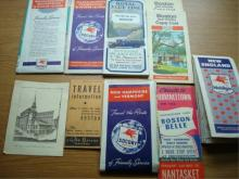 Lot of MAPS Boston MA and Area 1930-1950's