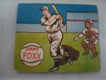 1943 M. & P. Co James Emory Foxx  Cards