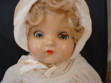 1930's Effanbee Composition Doll with Bracelet
