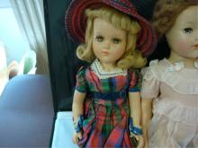 3 Composition Dolls unsigned
