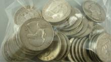40 Washington Quarters 1964 & below Dates $10 Face