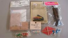 Miniature Doll House Furniture - Unopened Items