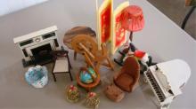 Miniature Doll House Furniture Living Room