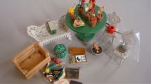 Miniature Doll House Furniture - Garden