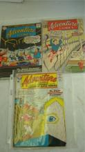 3 Adventure Comics Comic Books