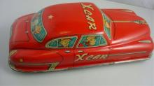 X Car 31416 Red with People Graphic Made in Japan