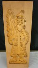 Wood SANTA Butter or Cookie Mold