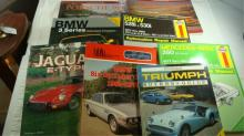 8 CAR Book Lot