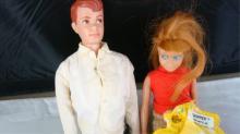 1960 KEN & 1960 SKIPPER Dolls with Clothes