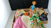 IDEAL Doll and Clothes Lot