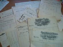 Keene NH Bill Heads 1890-1900 Knowlton & Stone
