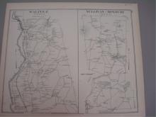 1892 Map of Walpole, Sullivan, Roxbury NH