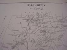 1892 Map Bow, Penacook, Chichester, Salisbury NH