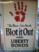 The Hun ~ His Mark  BLOT IT OUT Bond Poster