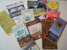 12 New England Scenic Maps 1950-1970's