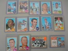 1968 TOPPS (15) Baseball Cards