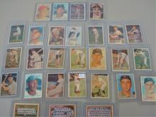 1957 TOPPS (28) Baseball Cards