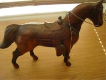 Vintage Carnival Souvenir Horse Western Style