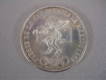 1968 Olympics Commemorative Silver Coin