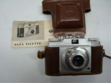 AGFA Germany Silette Pronto Camera w Booklet
