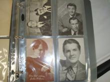 20 1950's Movies Star Exhibit Cards Major, Hoss