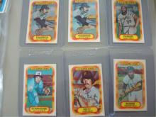 1977 Xograph 3D Super Stars (6) Cards