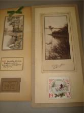 1912 & 1913 Calendars Blume Studio Worthington MN