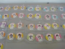 Crane Potato Chip (46) Baseball Cards 1970's
