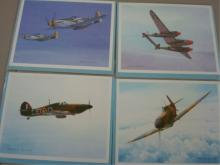 12 Brian Knight Airplane Cards with Envelopes