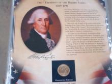 Volume I of II US Presidents Coin Collection
