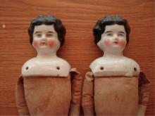2 China Head Dolls (10