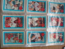 1970 Xograph 3D Super Star Cards (38)  Hof's