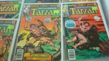 18 Misc TARZAN Comic Books
